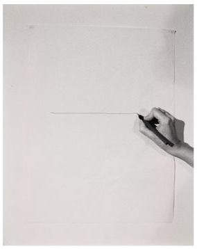 Helena Almeida - Inhabited Drawing (1977)